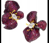 Цветы и лепестки: рубиновые украшения Cindy Chao