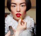 Макияж на показе Chanel Haute Couture