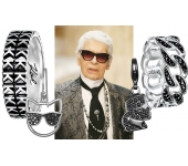 Карл Лагерфельд создал первую ювелирную коллекцию для Karl Lagerfeld