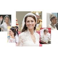 Королевские прически на свадьбу